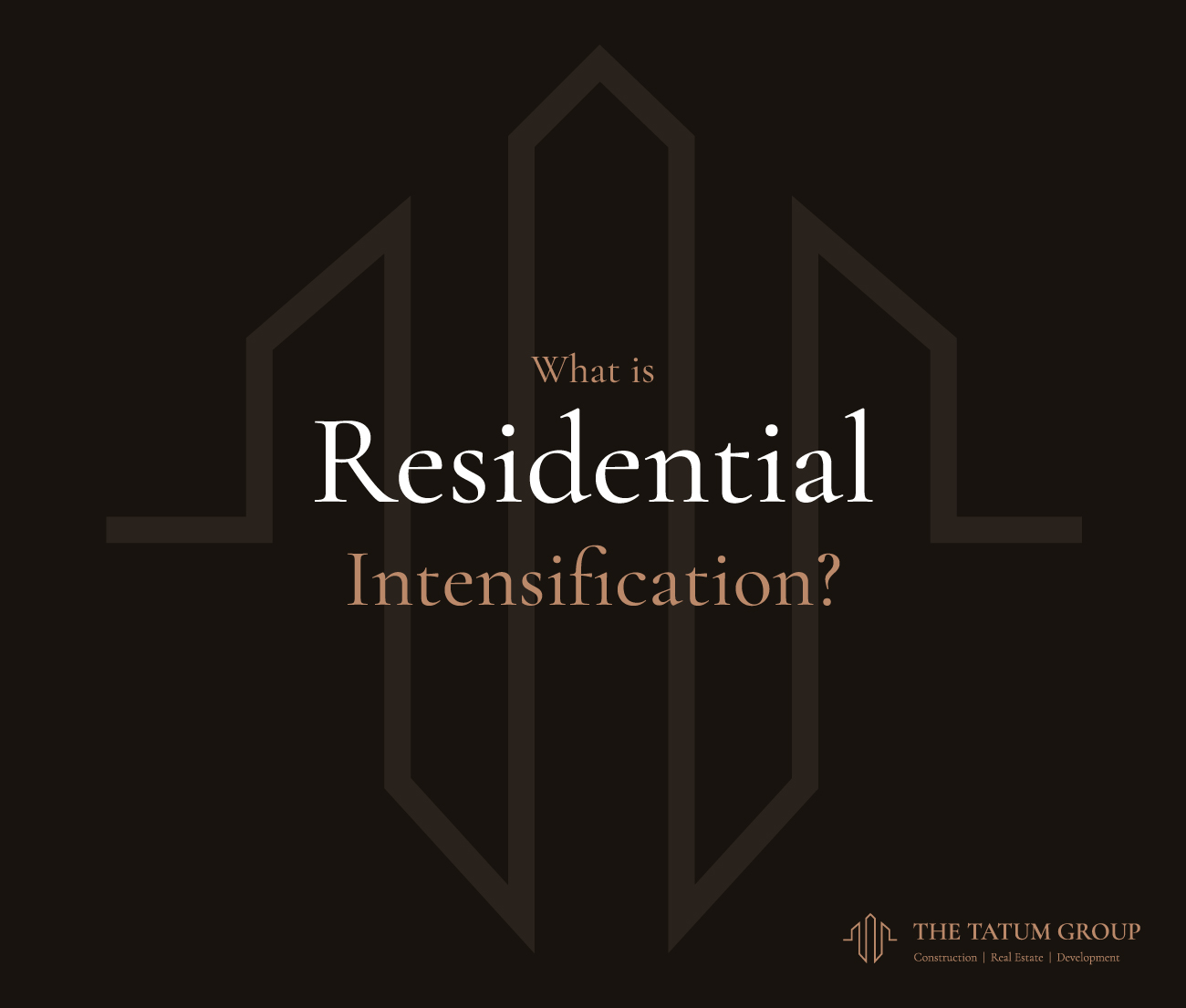 Residential intensification