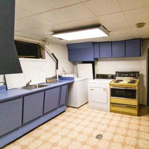 Basement Laundry/Kitchen